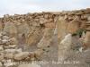 Fortalesa Ibèrica dels Vilars – Arbeca - Barrera de pedres clavades al terra per frenar una eventual invasió - (chevaux de frise)