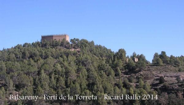 Fortí de La Torreta - Balsareny