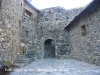 Fortificació de Boí - Antic portal - davant.