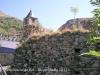 Fortificació de Boí - restes de llenç de muralla.
