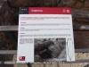 Fòrum de la Colònia – Tarragona - Plafó informatiu situat dins del recinte