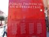 Fòrum provincial – Tarragona - Plafó informatiu situat davant de les restes