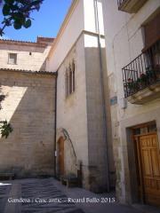 Gandesa-Casc antic-Antiga Casa de la Vila.