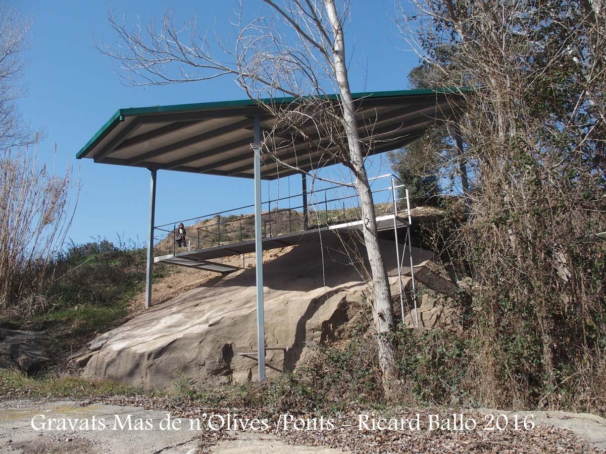 Gravats del Mas de n'Olives - Ponts