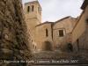 Guimerà - Església de Santa Maria vista des de la pujada al castell..