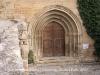 Guimerà - Església de Santa Maria - Porta d\'entrada - gòtica.