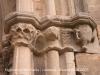 Guimerà - Església de Santa Maria - Porta d\'entrada.