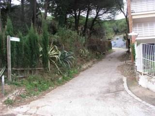 Camí a Les Torretes - Calella