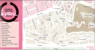 Lleida-Centre Històric - Mapa