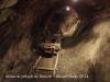 Mina de petroli de Riutort - Guardiola de Berguedà - Una de les vagonetes que es feien servir per extraure el material de la mina.