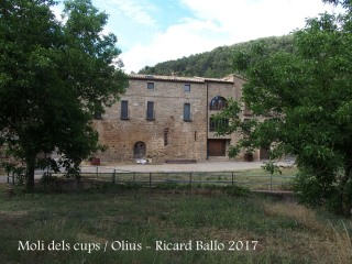 Molí dels cups – Olius