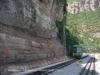 Montserrat - cremallera: baixant.