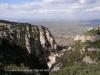 Montserrat des de l\'estació superior del funicular de Sant Joan.