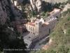 Montserrat des del funicular de Sant Joan.