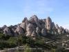 La muntanya de Montserrat.