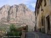 Vista de la muntanya de Montserrat, des de Collbató.