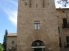 Monestir de Sant Cugat del Vallès. Portal Major. Actual oficina d'informació.
