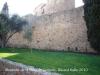 Monestir de Sant Feliu de Guíxols - Exterior recinte fortificat.