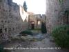 Monestir de Sant Feliu de Guíxols - Interior recinte fortificat.
