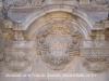 Monestir de Sant Feliu de Guíxols-Arc de Sant Benet, portada barroca del monestir.