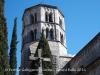 Monestir de Sant Pere de Galligants - creu de terme