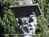 Monestir de Sant Pere de Galligants - Detall de la creu de terme situada al davant