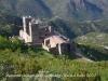 Monestir de Sant Pere de Rodes des del camí de pujada al castell de Sant Salvador de Verdera.