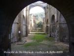 Monestir de Santa Maria de Gualter.