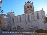 Monestir de Santa Maria de Vallbona – Vallbona de les Monges - El cimbori-campanar en forma de llanterna octogonal acabada en piràmide és un exemplar únic. A més d'ésser d'extraordinària bellesa, és una de les obres més atrevides de l'arquitectura medieval.