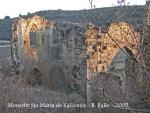 Guimerà - Monestir de Santa Maria de Vallsanta