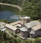 Monestir de Sant Pere de Casserres-Portada del prospecte amb informació que faciliten a l'entrada, juntament amb la compra del ticket de la visita.