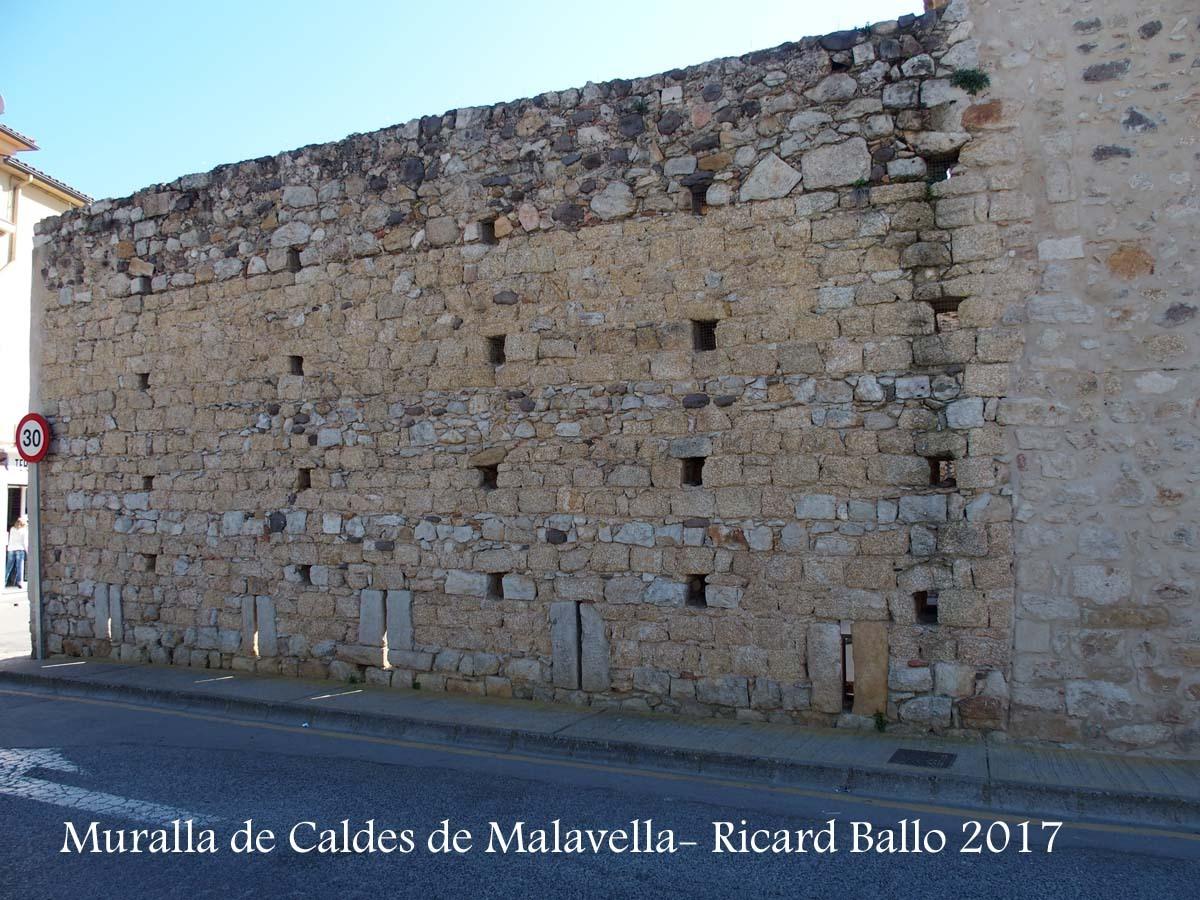 Muralla de Caldes de Malavella