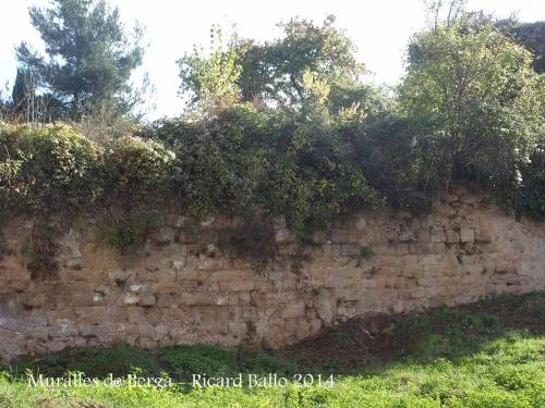 Muralles de Berga