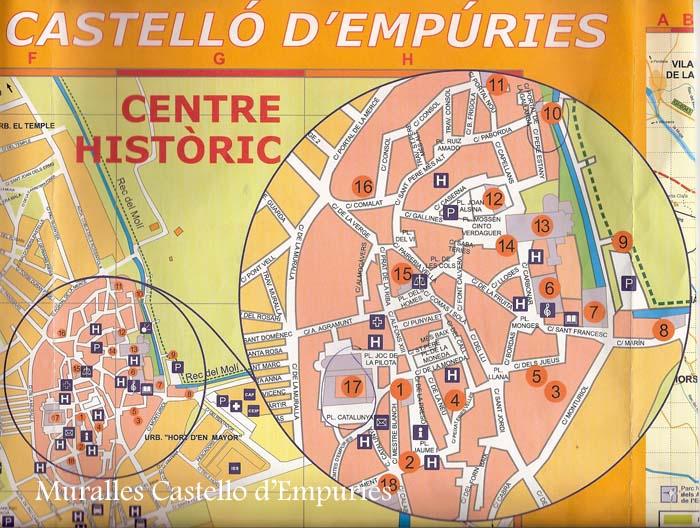 Muralles de Castell dEmpries Alt Empord Catalunya Medieval