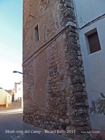 Muralles de Mont-roig del Camp - Casa dels Torrells