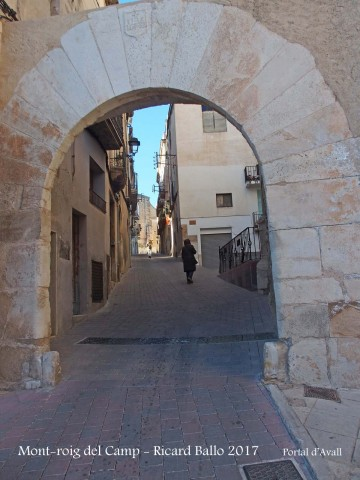 Muralles de Mont-roig del Camp - Portal d'Avall