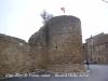 Muralles de Palau-sator: Torre de la plaça de la Font.