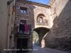 Muralles de Prades: Portal situat al final del Carrer Nou del Pont.