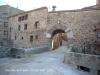 Muralles de Prades: Portal situat al final del Carrer Nou del Pont  .