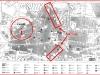 MAPA de Prades Facilitat per l'oficina d'informació d'aquesta localitat. (Retocat: en color vermell la situació del castell i de les muralles) .