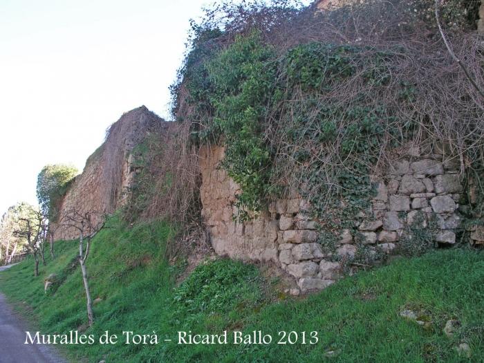 Muralles de Torà