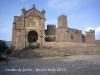 Castillo de Javier - NAVARRA - Conjunto monumental: a la izquierda la Basílica, a la derecha, castillo de Javier.