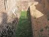 Palacio fortificado de Sangüesa - NAVARRA / Foso.