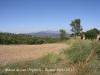 Vistes des d\'Orpinell - Al fons, la muntanya de Montserrat.