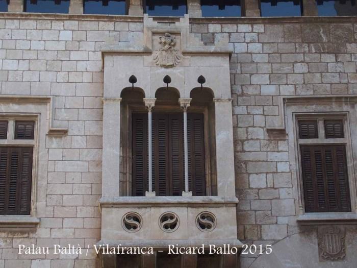 Palau Baltà – Vilafranca del Penedès