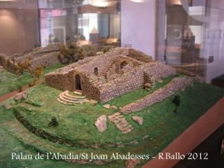 St Joan de les Abadesses-Maqueta del castell de Mataplana - Gombrèn / Ripollès