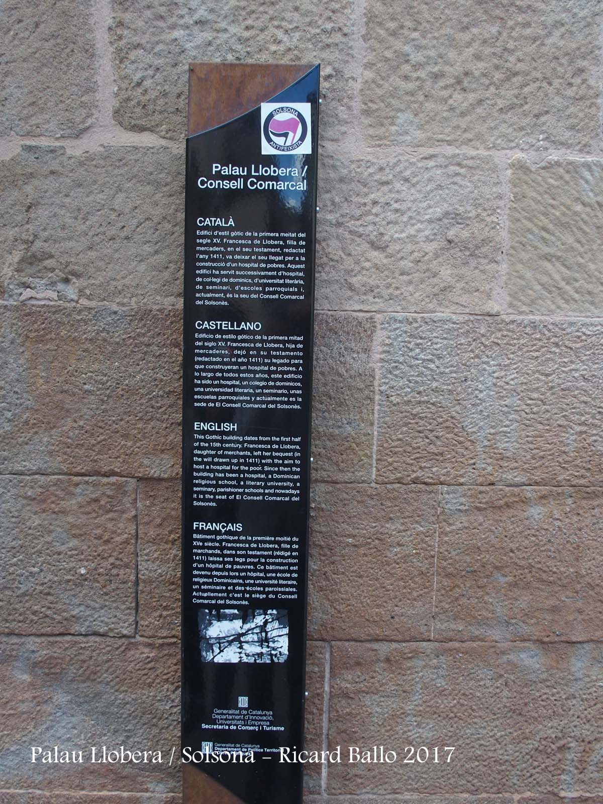 Palau Llobera – Solsona
