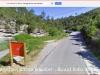 Paratge fluvial vora Rocafort - Captura de pantalla de Google Maps.