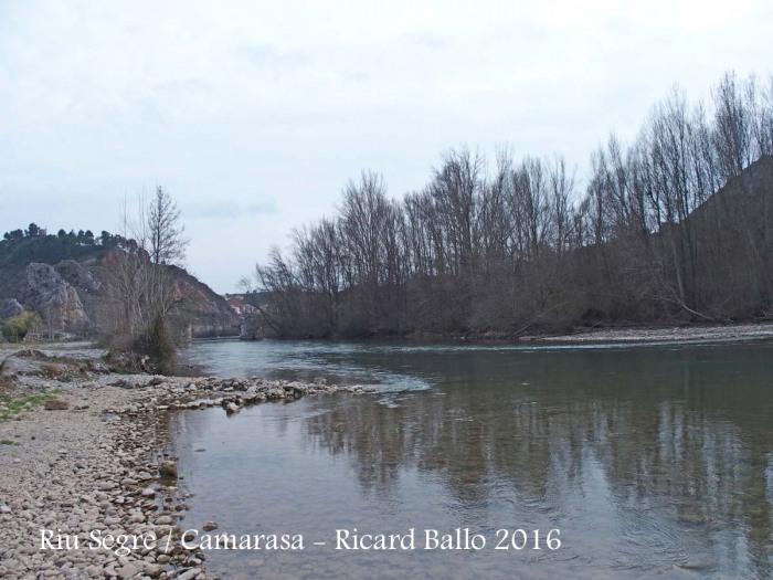 El riu Segre al seu pas per Camarasa