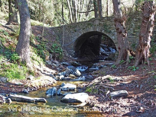 Veí del Pont de Can Coca - Montseny